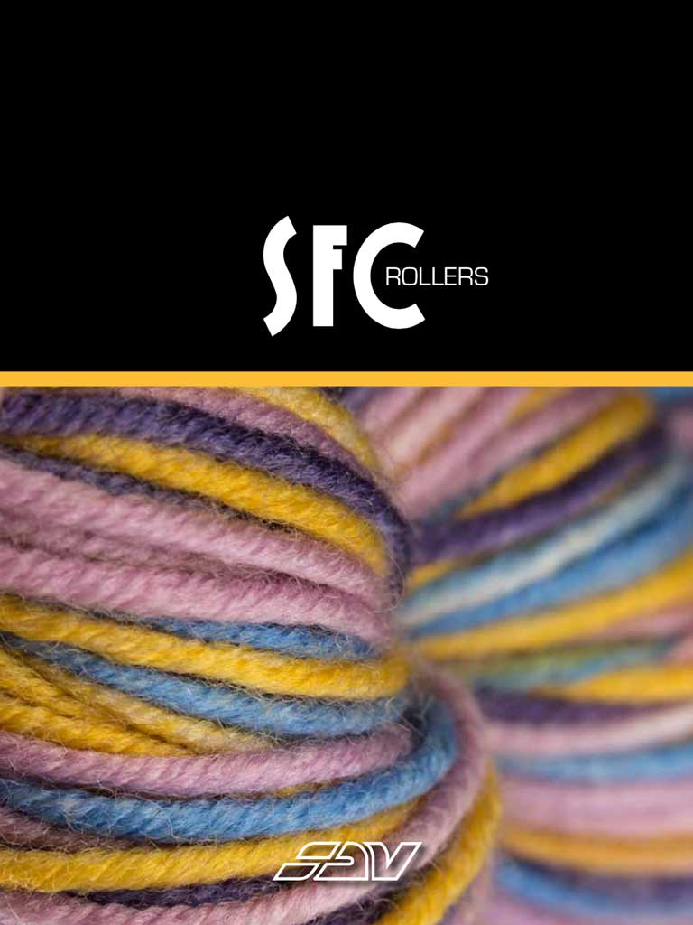 Catalogo SFC Rollers